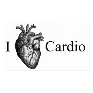 I Heart Cardio Business Cards