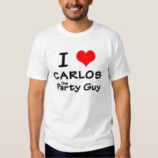 I Heart Carlos T-shirt