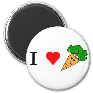 I heart Carrots Magnet