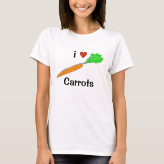i Heart Carrots Shirts
