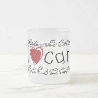 I Heart Cars Tshirts and Gifts Mug