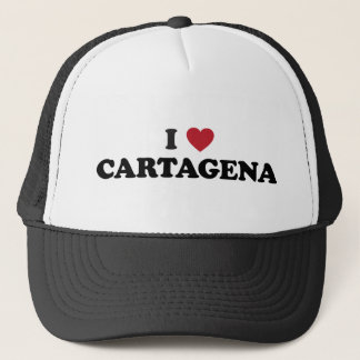 I heart Cartagena Colombia Trucker Hat