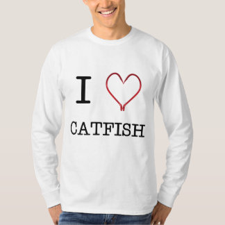 I [Heart] Catfish Long Sleeve T-Shirt
