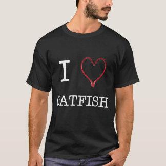 I [Heart] Catfish T-shirt DARK