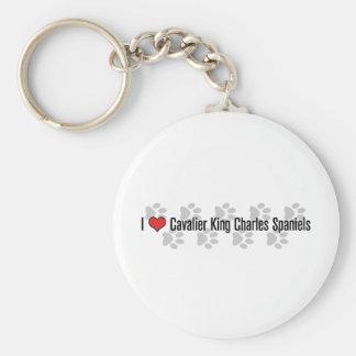 I (heart) Cavaliers Key Ring