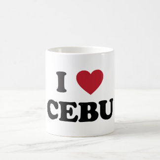 I Heart Cebu Philippines Basic White Mug