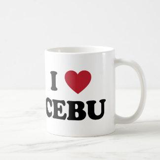 I Heart Cebu Philippines Coffee Mug