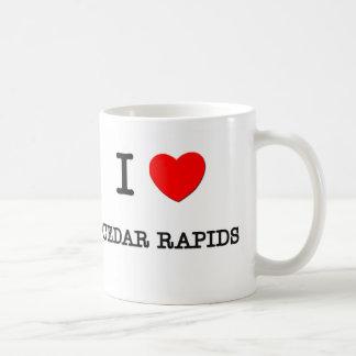 I Heart CEDAR RAPIDS Basic White Mug