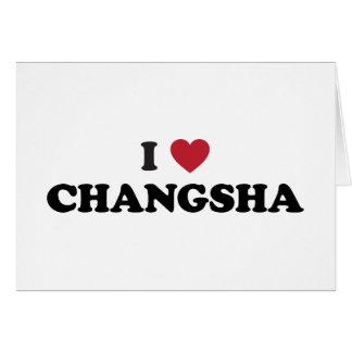 I Heart Changsha China Card