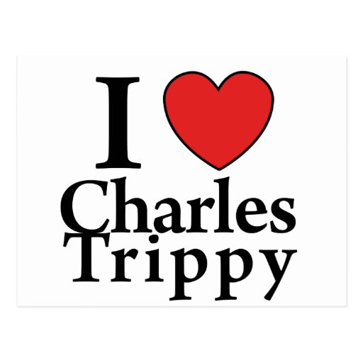 I Heart Charles Trippy Postcards