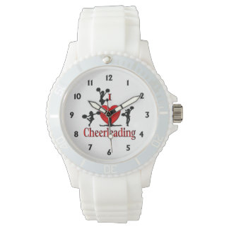 I Heart Cheer Leading Girls Watches