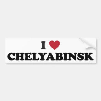 I Heart Chelyabinsk Russia Bumper Sticker