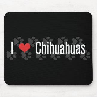 I (heart) Chihuahuas Mouse Mat