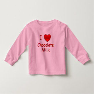 I Heart Chocolate Milk T Shirts