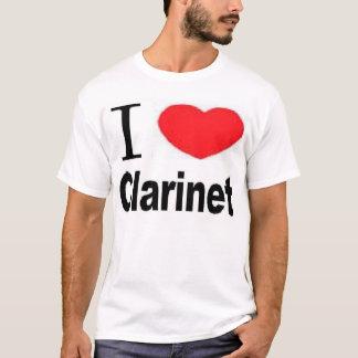 I Heart Clarinet T-Shirt