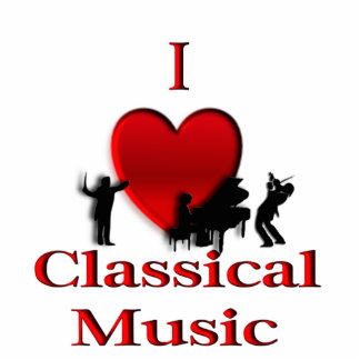 I Heart Classical Music Photo Cut Out