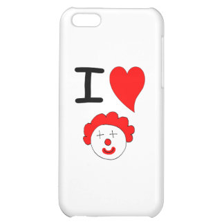 I Heart Clowns Cover For iPhone 5C
