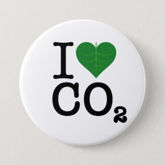 I Heart CO2 7.5 Cm Round Badge