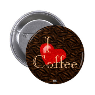 I Heart Coffee Button
