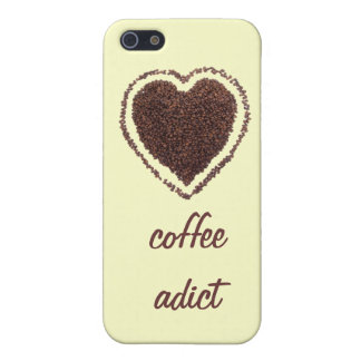 I heart coffee coffee addict iPhone 5/5S case