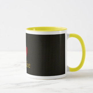 I Heart Coffee_Coffee Mug (Black)