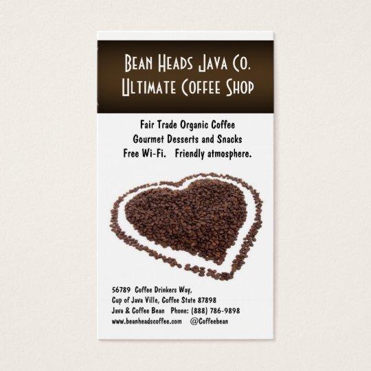 I Heart Coffee! Heart Shaped Coffee Beans Business
