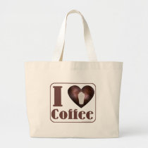 I heart Coffee tote