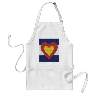 I heart Colorado Flag Products! Aprons