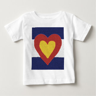 I heart Colorado Flag Products! Baby T-Shirt