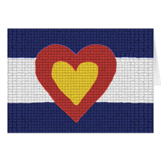 I Heart Colorado Flag Products! Cards