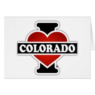 I Heart Colorado Greeting Card
