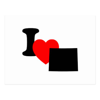 I Heart Colorado Postcard