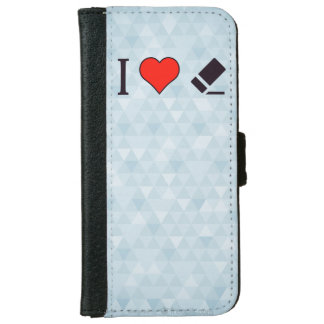I Heart Correcting Mistakes iPhone 6 Wallet Case