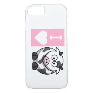 I Heart Cows iPhone 7 case
