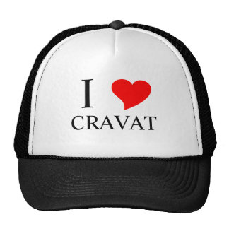I Heart CRAVAT Trucker Hat