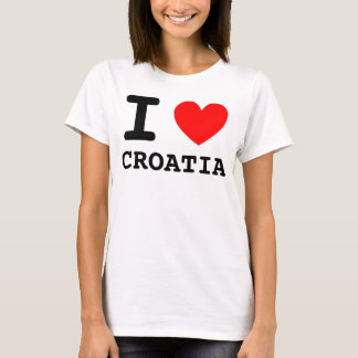 I Heart Croatia Shirt