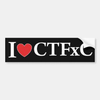 I Heart CTFxC Bumper Sticker