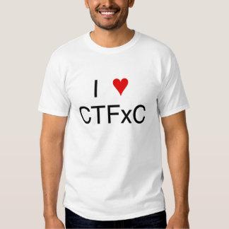 I Heart CTFxC T-shirt