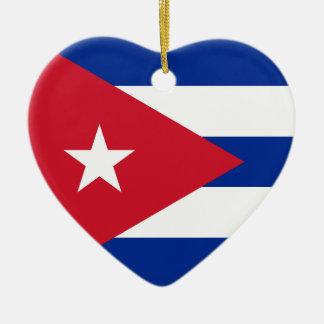 I Heart Cuba! Christmas Ornament