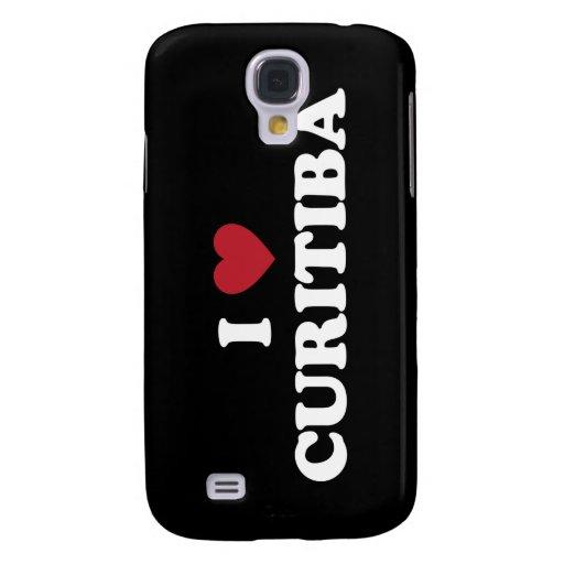 I Heart Curitiba Brazil Samsung Galaxy S4 Cases
