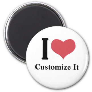 I Heart Customize It Magnets