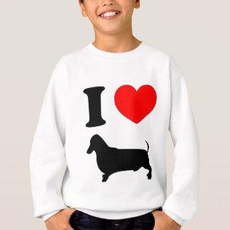 I Heart Dachshund Sweatshirt