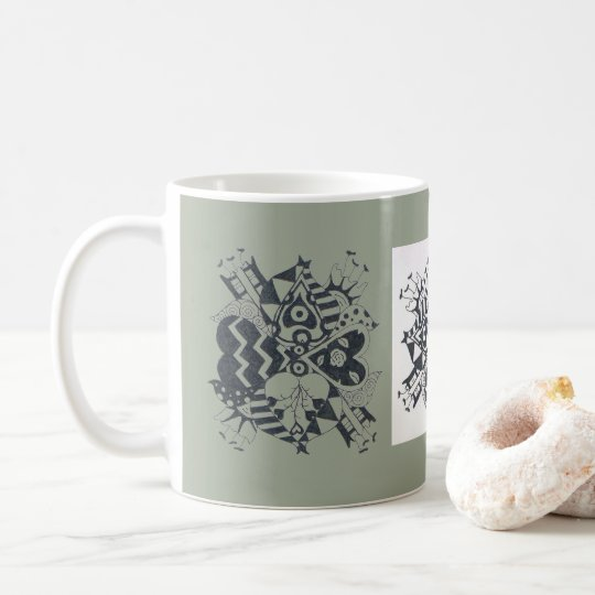 I Heart Daffodils Coffee Mug
