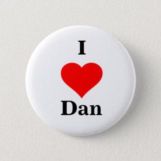 I Heart Dan Button