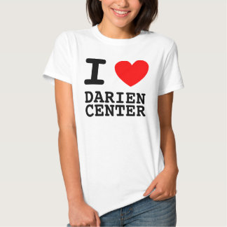 I Heart Darien Center Tee Shirts