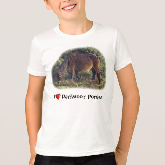 I heart Dartmoor Ponies t-shirt