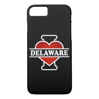 I Heart Delaware iPhone 7 Case