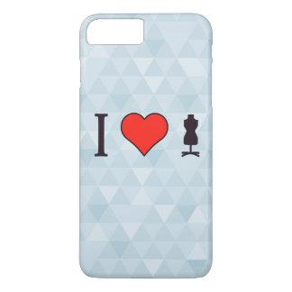 I Heart Designing Clothes iPhone 7 Plus Case