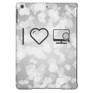 I Heart Desktop Scans Case For iPad Air