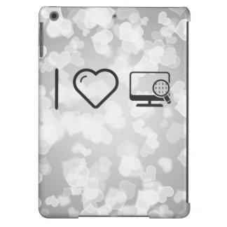 I Heart Desktop Scans Case For iPad Air